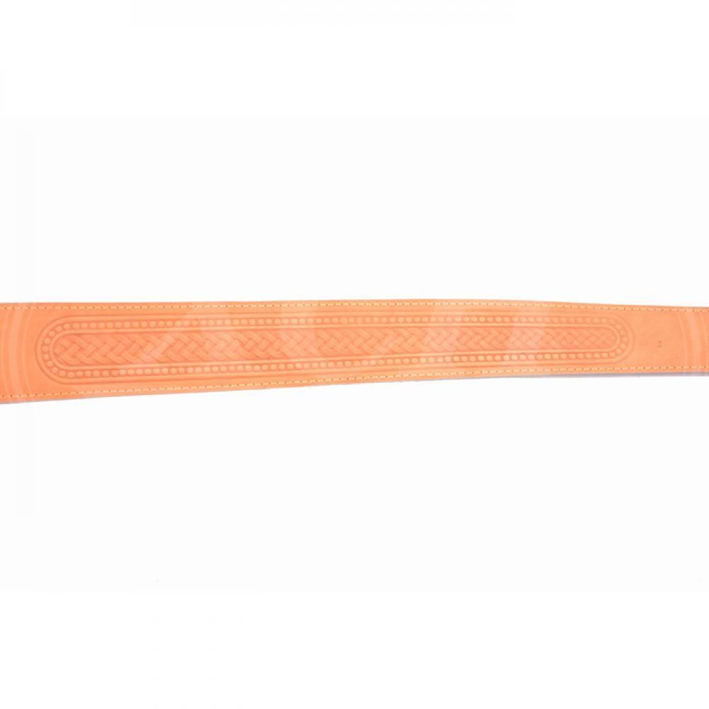 Ремень ружейный фигурный тисненый с пряжкой (I)