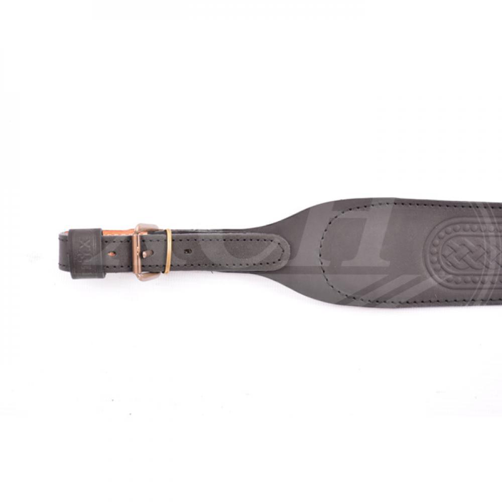 Ремень ружейный фигурный тисненый с пряжкой (III)