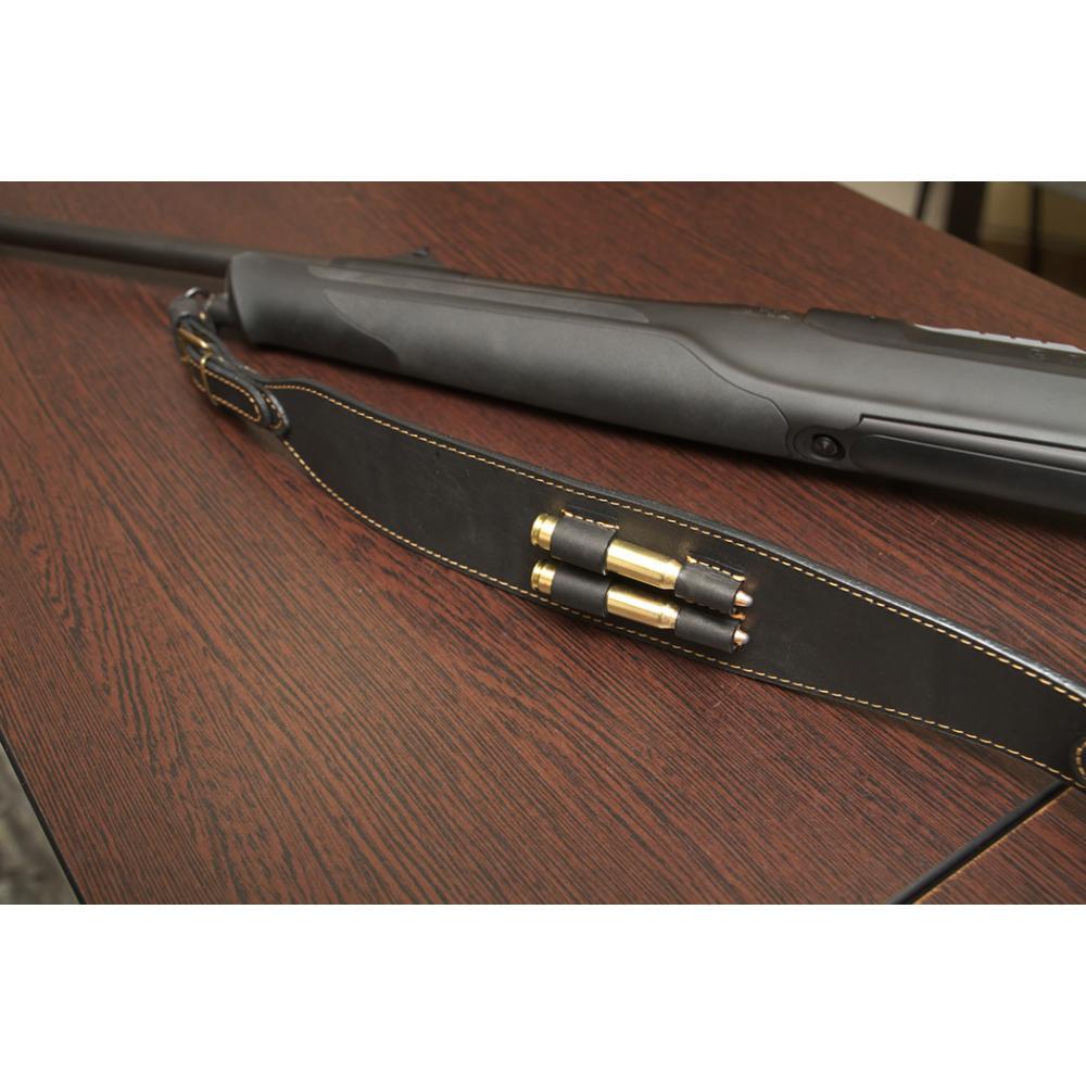 Ремень ружейный фигурный (с петлей, с патронташем 7,62/2, с пряжкой) (III)