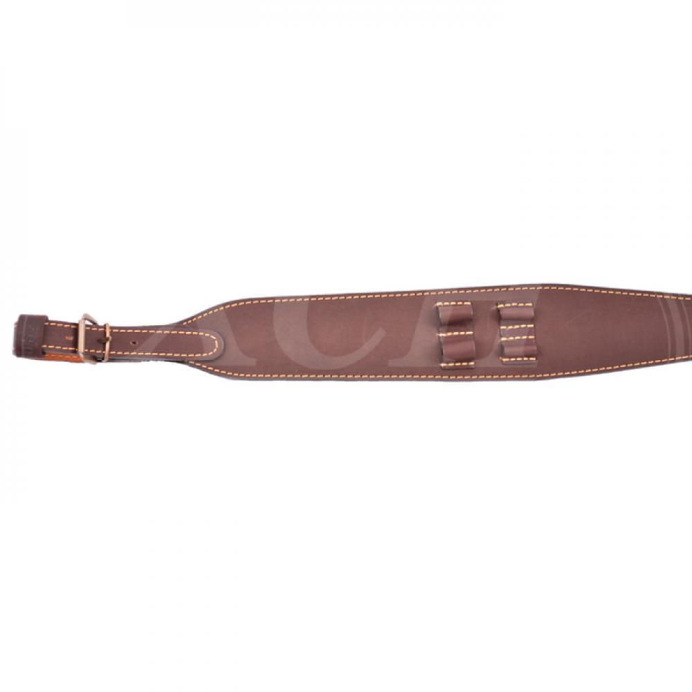 Ремень ружейный фигурный (с петлей, с патронташем 7,62/2, с пряжкой) (IV)