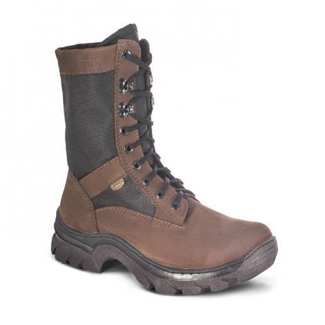 "Ботинки ""Охрана-Легионер"" нубук (коричневые)"