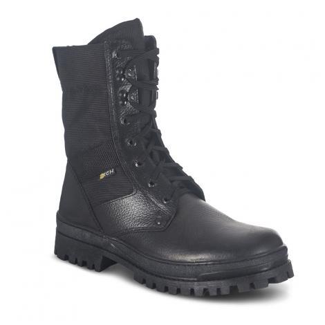 """Ботинки """"Охрана"""" облегченные (черные/камбрель)"""