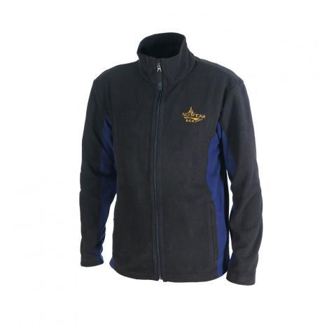 """Куртка """"Актив"""" флисовая (черный/синий) 771-9 ХСН"""