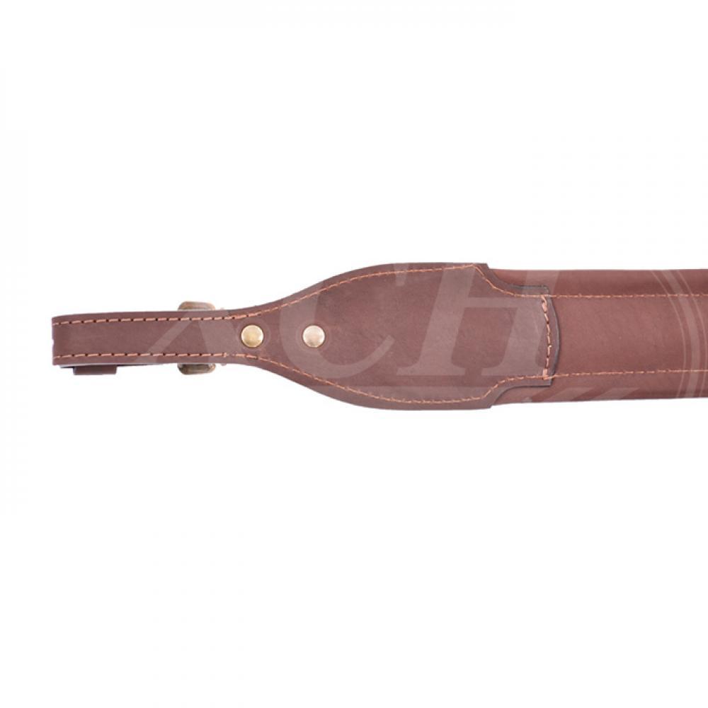 Ремень ружейный фигурный с пряжкой (VIP)