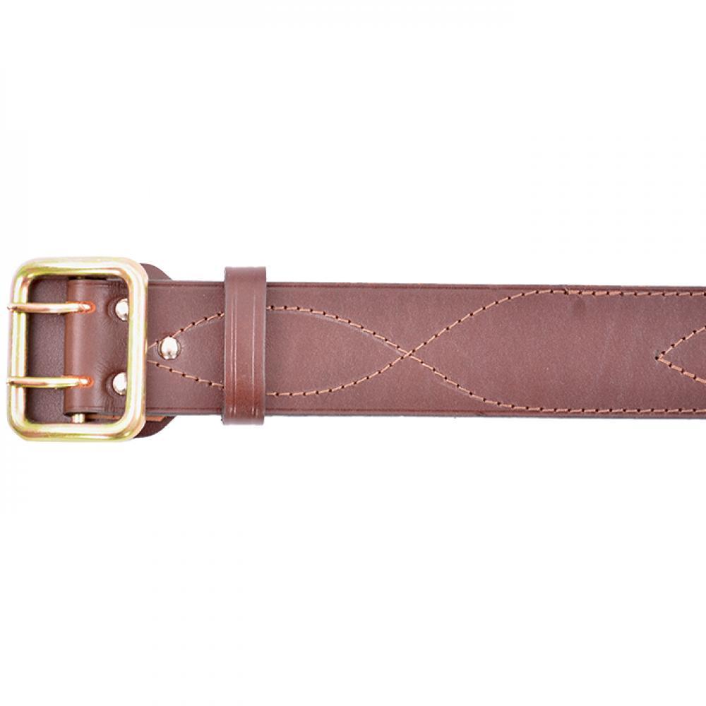 Ремень офицерский коричневый 50 мм (№ 5 - 7)