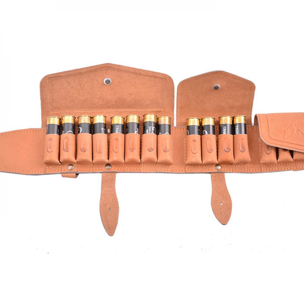 Патронташ К-12 20 патронов закрытый (люкс) (I)