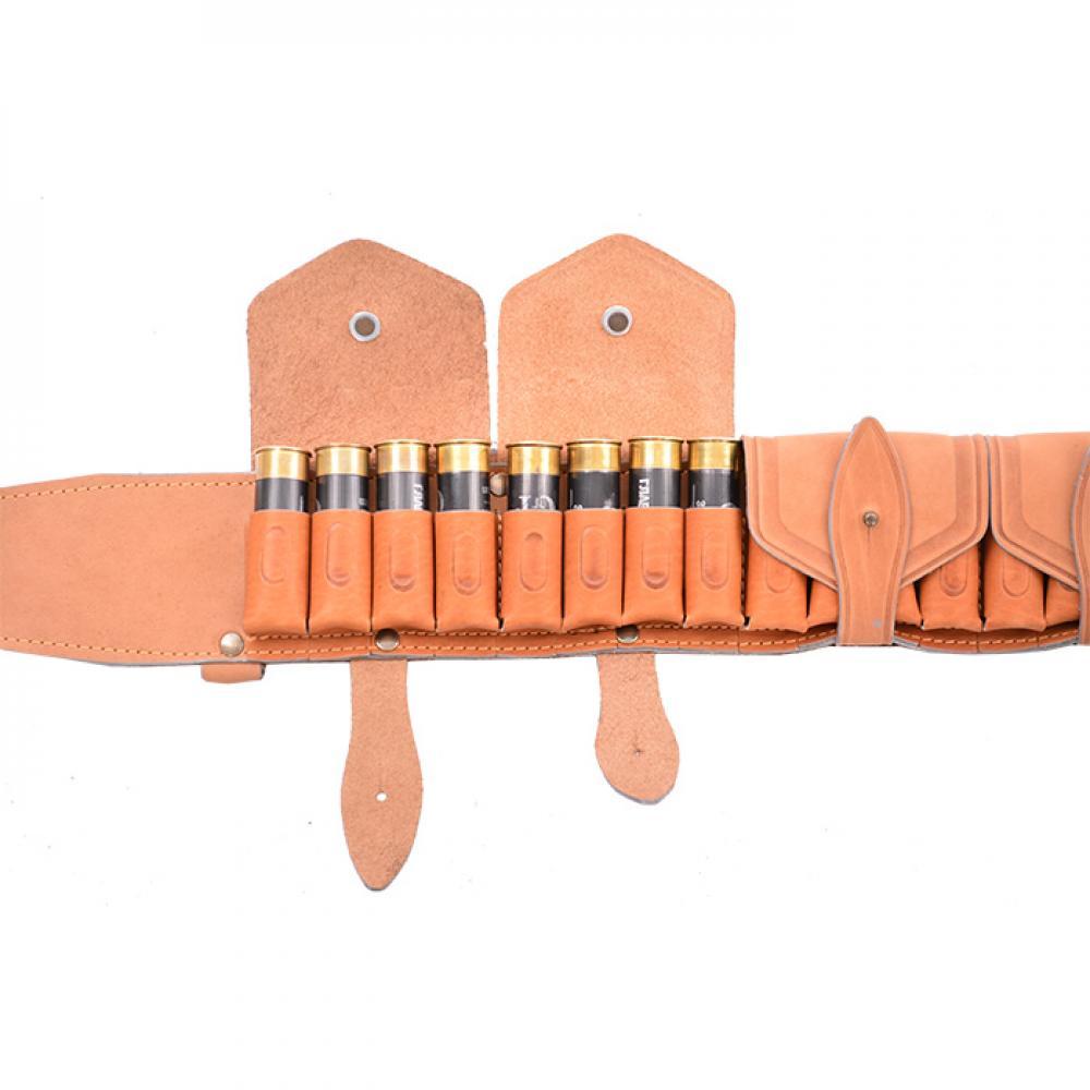 Патронташ К-12 20 патронов пятиклапанный с подвесной системой (I)