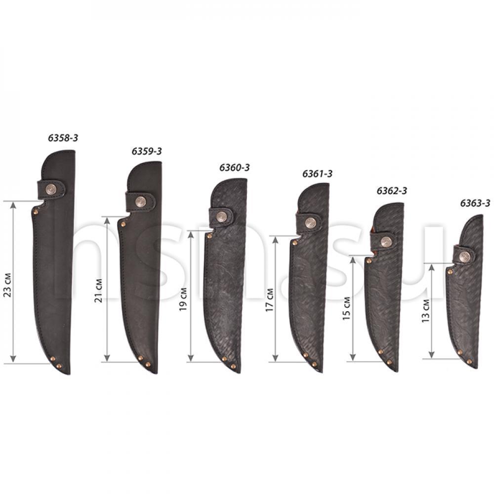 Ножны европейские элитные (длина клинка 13 см) (III)
