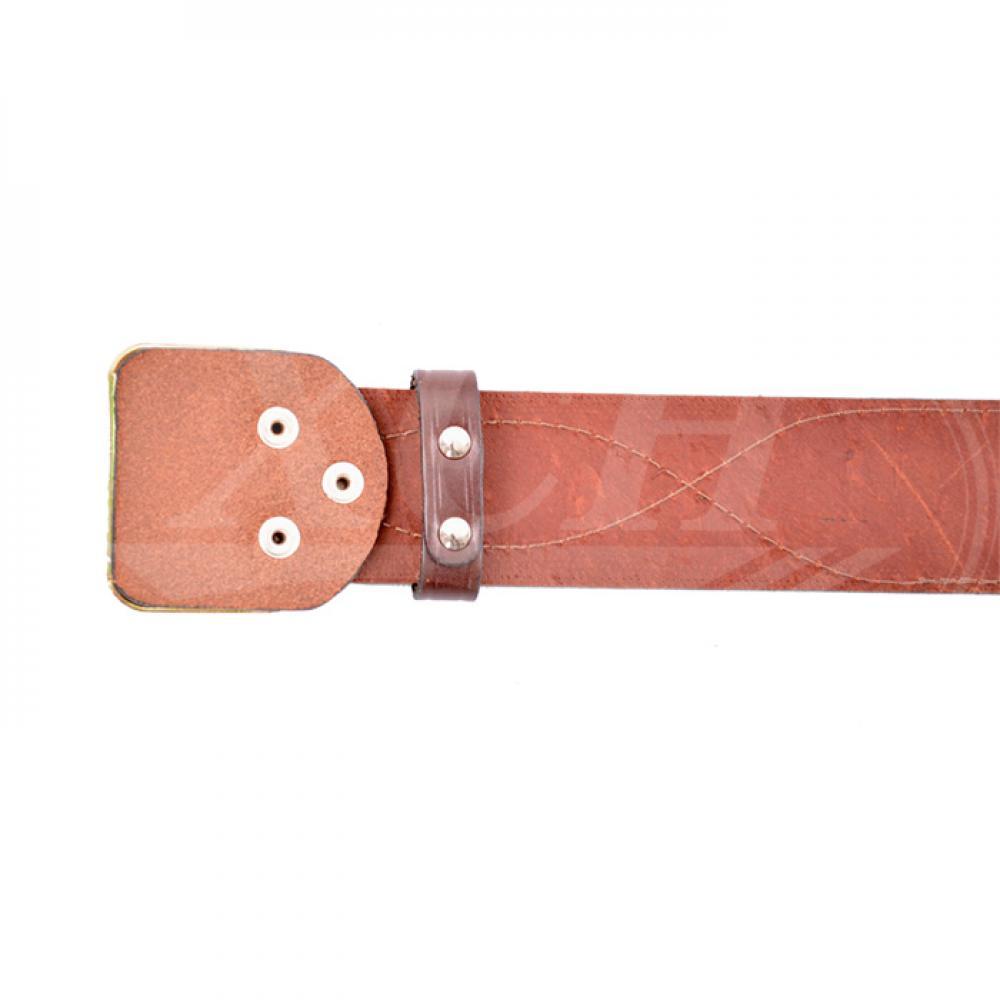 Ремень офицерский коричневый 50 мм (№ 1 - 4)