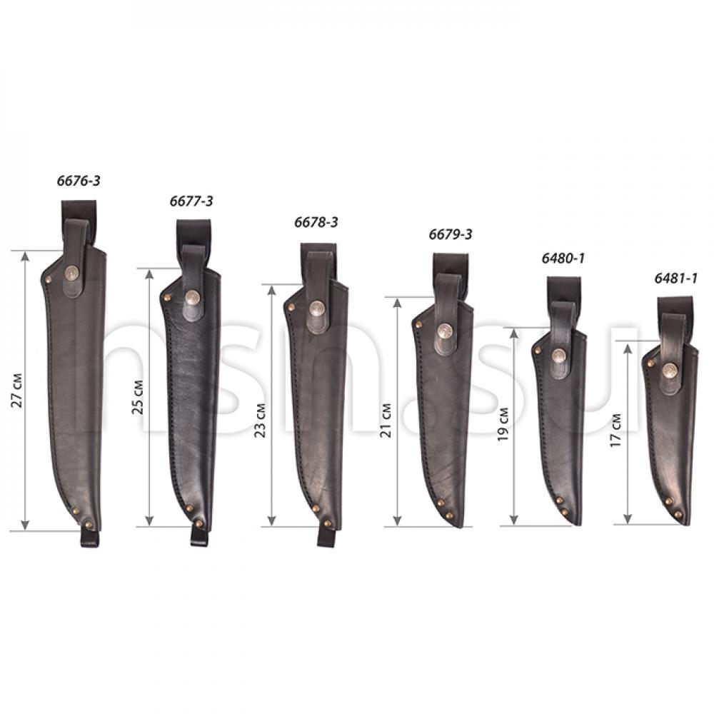 Ножны финские с застежкой (длина 19 см) (III)
