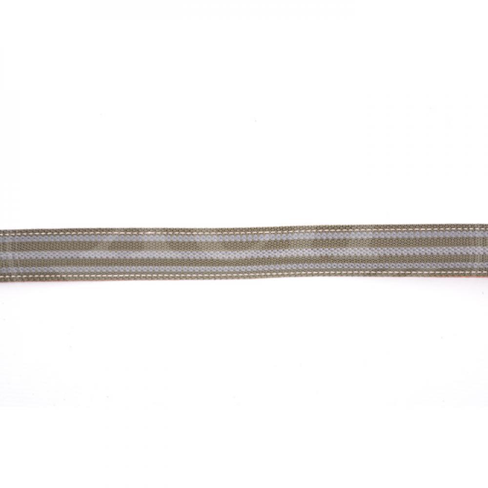 Ремень ружейный прямой 30мм противоскользящий гладкая кожа (IV)