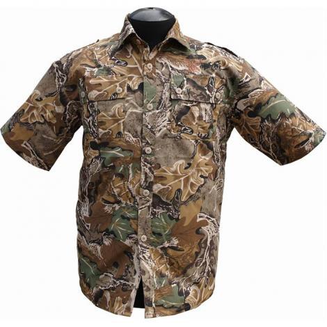 """Рубашка с коротким рукавом """"Фазан"""" (дубок)"""
