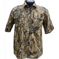 """Рубашка с коротким рукавом """"Фазан"""" (лес)"""
