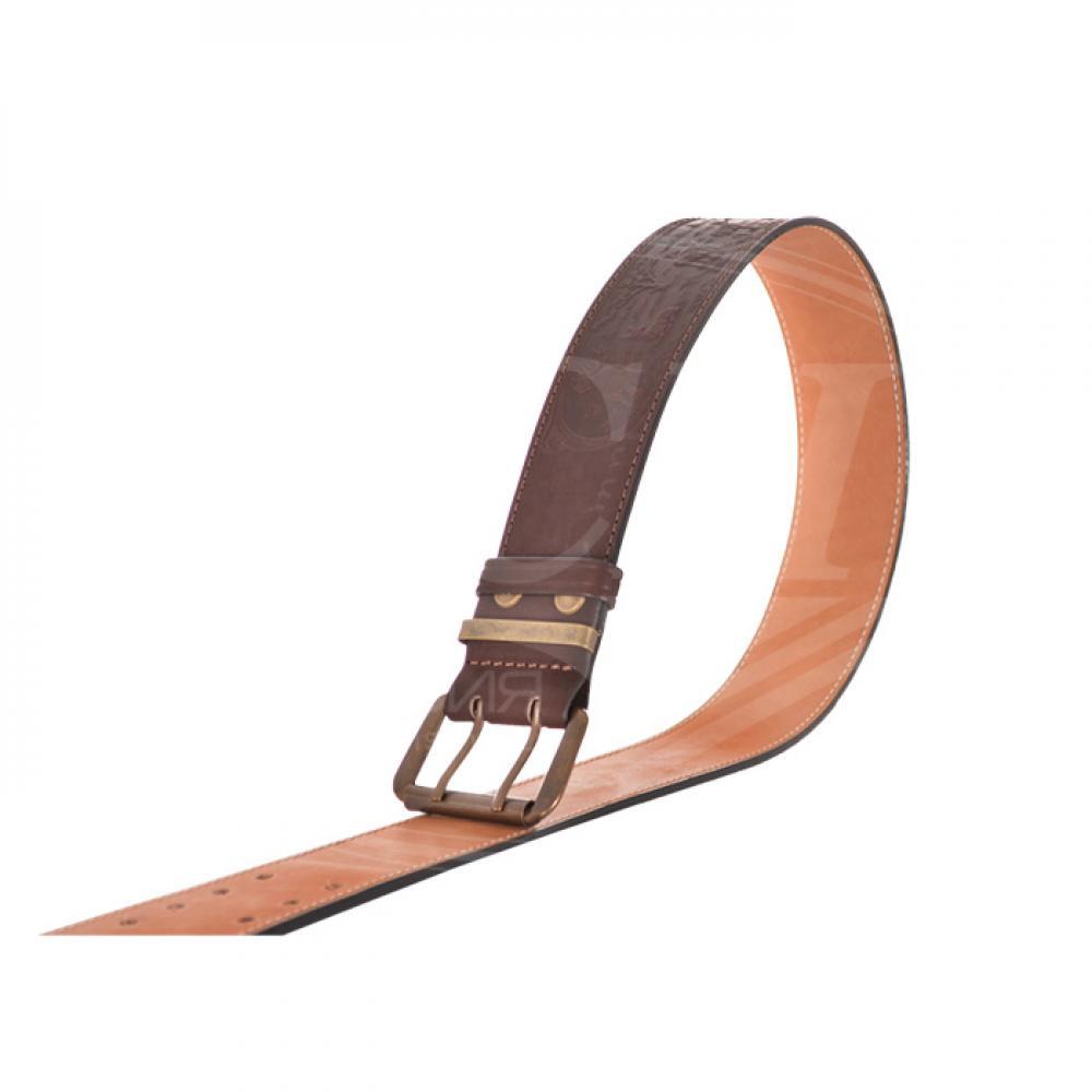 Ремень охотника брючный коричневый 50 мм